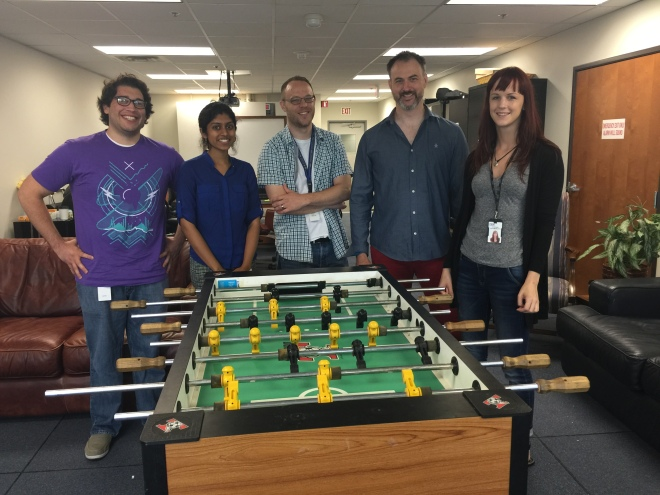 IoT enabled foosball table